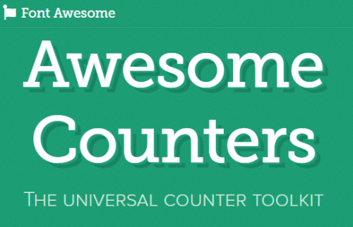 Awesome Counters